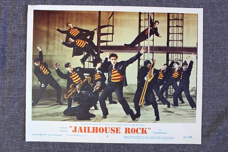 Jailhouse Rock - Elvis Presley (1957) US Lobby Card #5