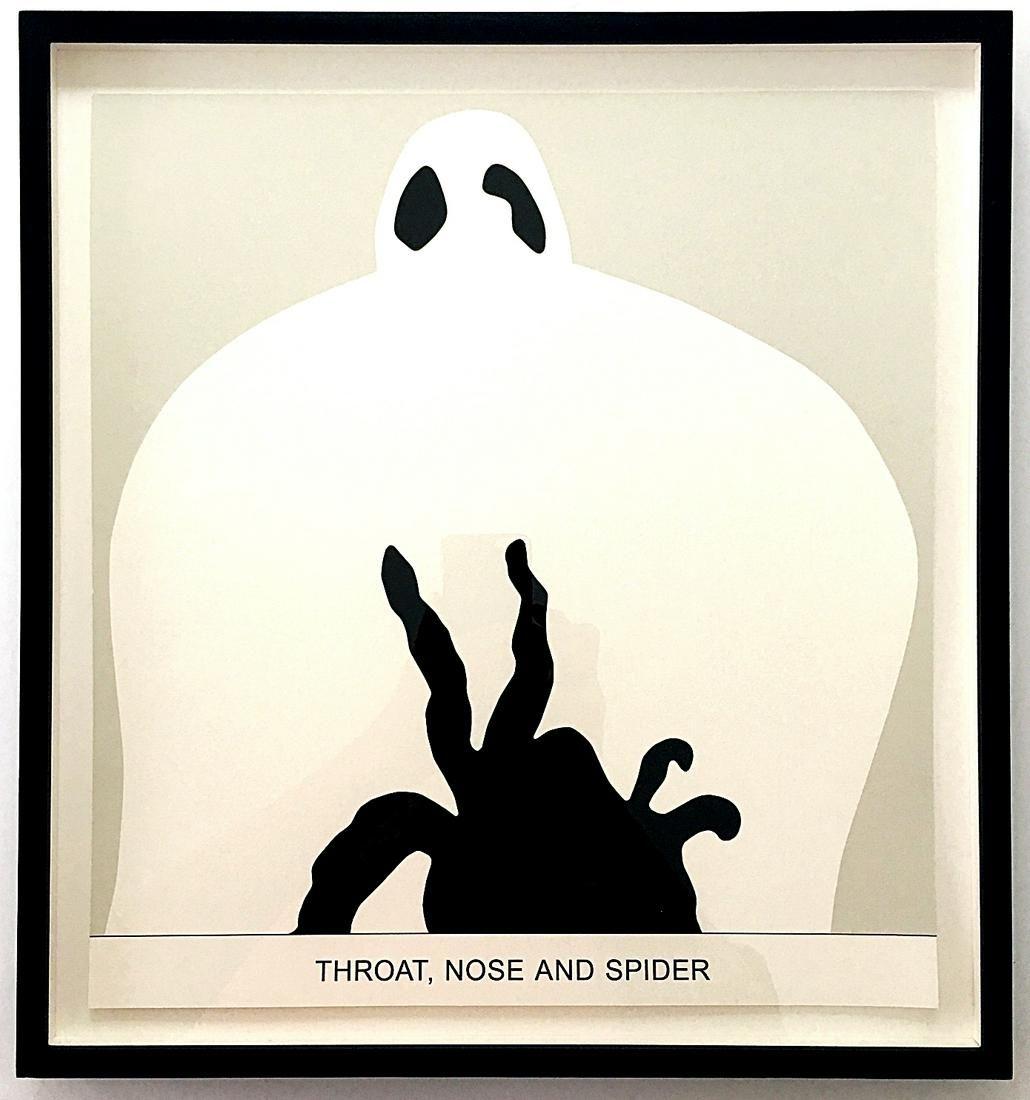 John Baldessari: Sediment: Throat, Nose and Spider 2010