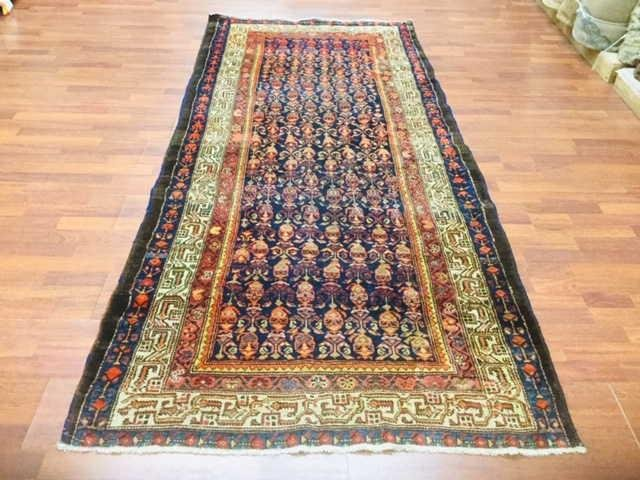 1920,Antique Persian Malayer Runner, excellent, 4 ' x