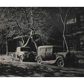 FRED G. KORTH - Cars lit by the Street Lamp