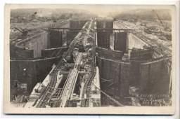 ca. 1912 rppc PANAMA CANAL CONSTRUCTION of PEDRO MIGUEL