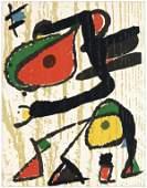 Joan Miro original woodcut
