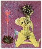 Jacques Herold original lithograph, 1947