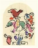 "Marc Chagall ""Tribe of Asher"" Jerusalem Windows"