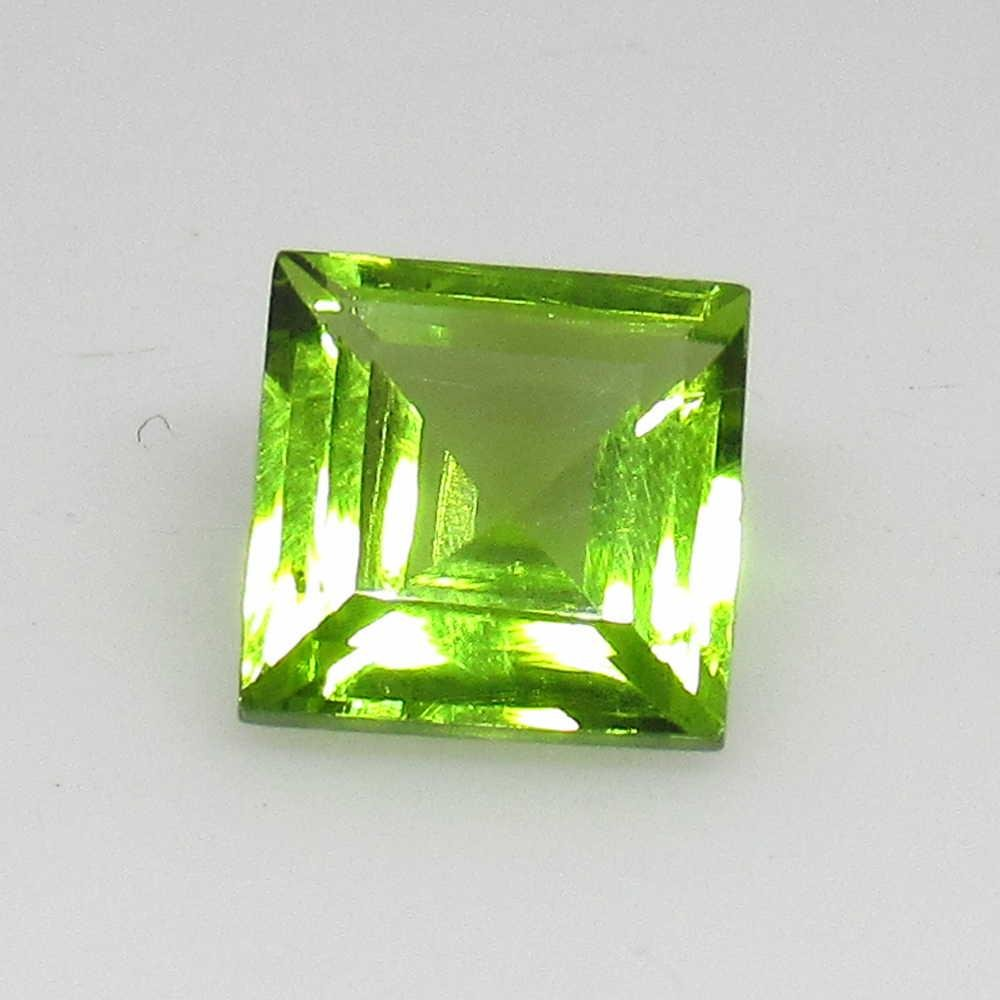 1.91 Ctw Natural Pakistan Peridot Square Cut