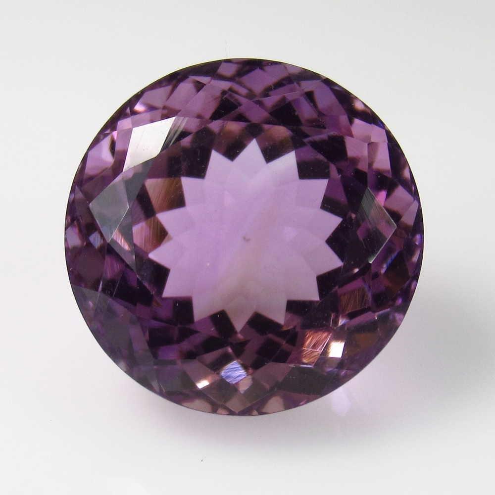 19.20 Ct Genuine Purple Amethyst Round Cut