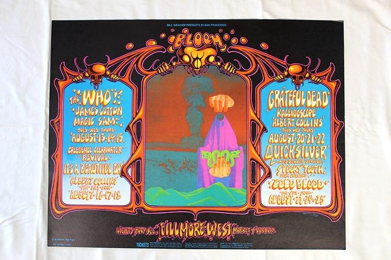 The Who/Creedence Clearwater Revival/Grateful Dead