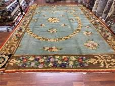 Antique Large size European Sevaneari rug, excellent,