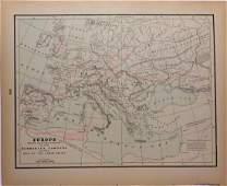 Barbarian Europe Post Roman Empire 1897