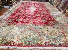 Antique Over size Persian Kerman rug-1779