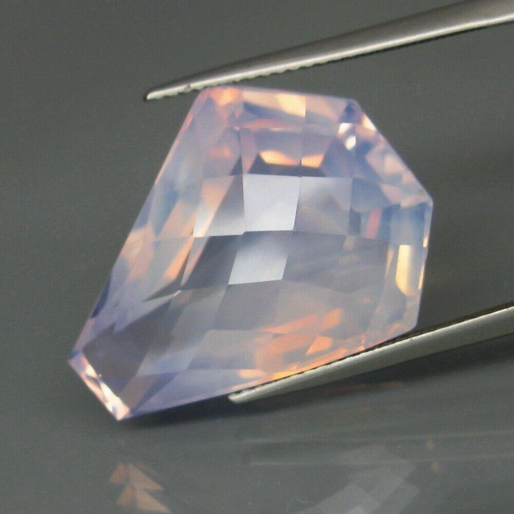 24,82 ct Rare! Big PUrple Pearl Natural Amethyst 24,82