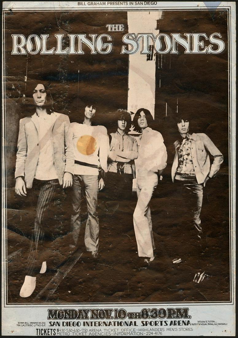 Rolling Stones BG-202 San Diego International Sports