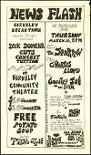 Interesting 1967 Berkeley Community Theater Handbill