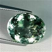 Natural Green Amethyst Oval Cut 10.10 ct