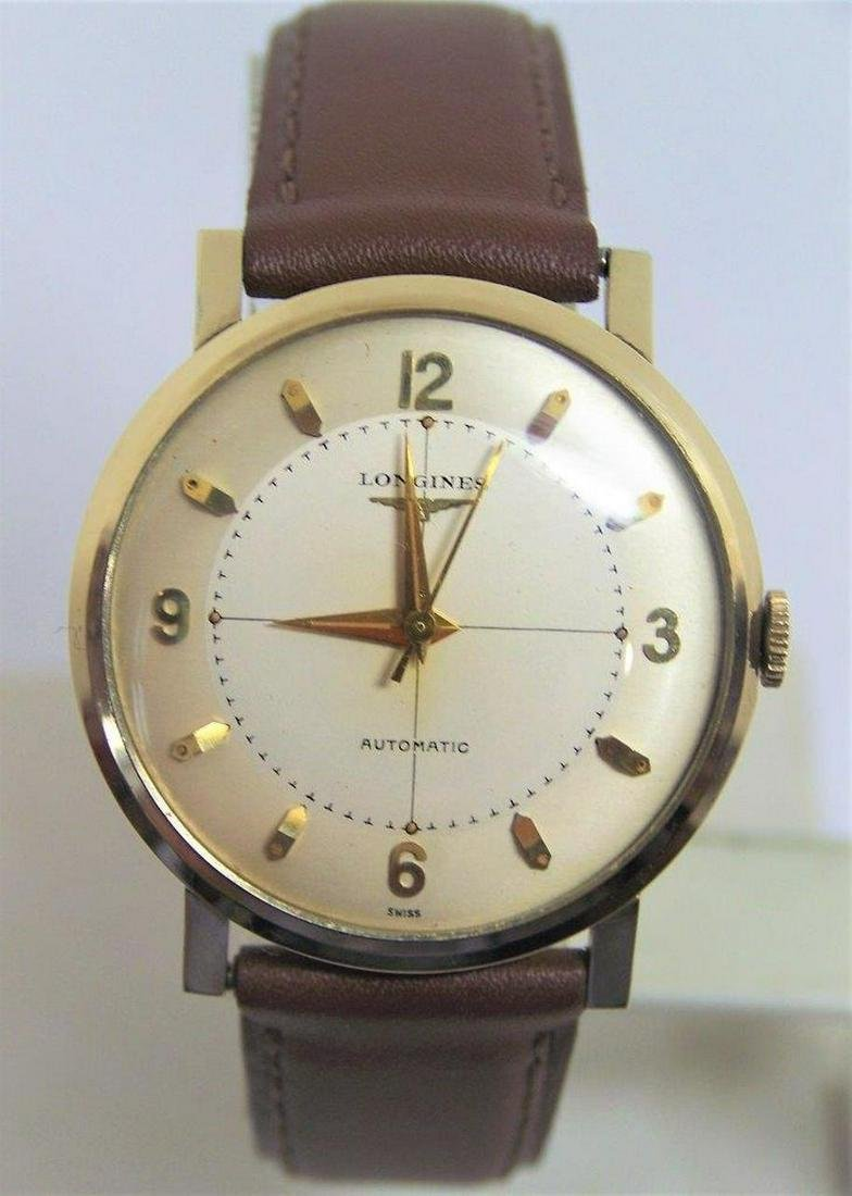 Vintage 10k GF LONGINES Automatic Watch 1960s Cal 19AS