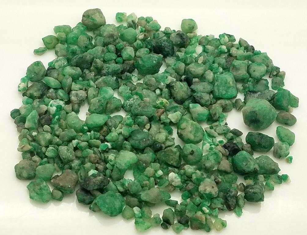 78 Grams Beautiful Green Emerald Rough