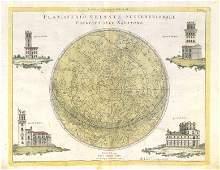 Planisferio Celeste Settentrionale. Northern hemisphere