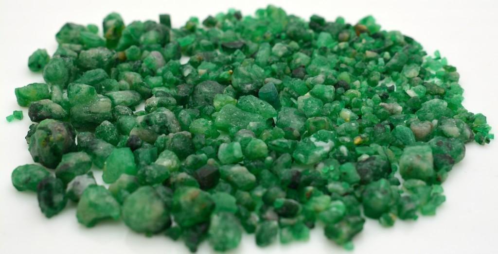 33 Grams Beautiful Rough Emerald