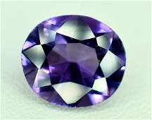 4.25 Carats Oval Cut Loupe Clean Amethyst Loose