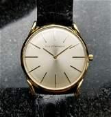 Girard-Perrega; ux Vintage 1970s Solid 18k Gold Swiss