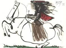 Pablo Picasso: Equestrian