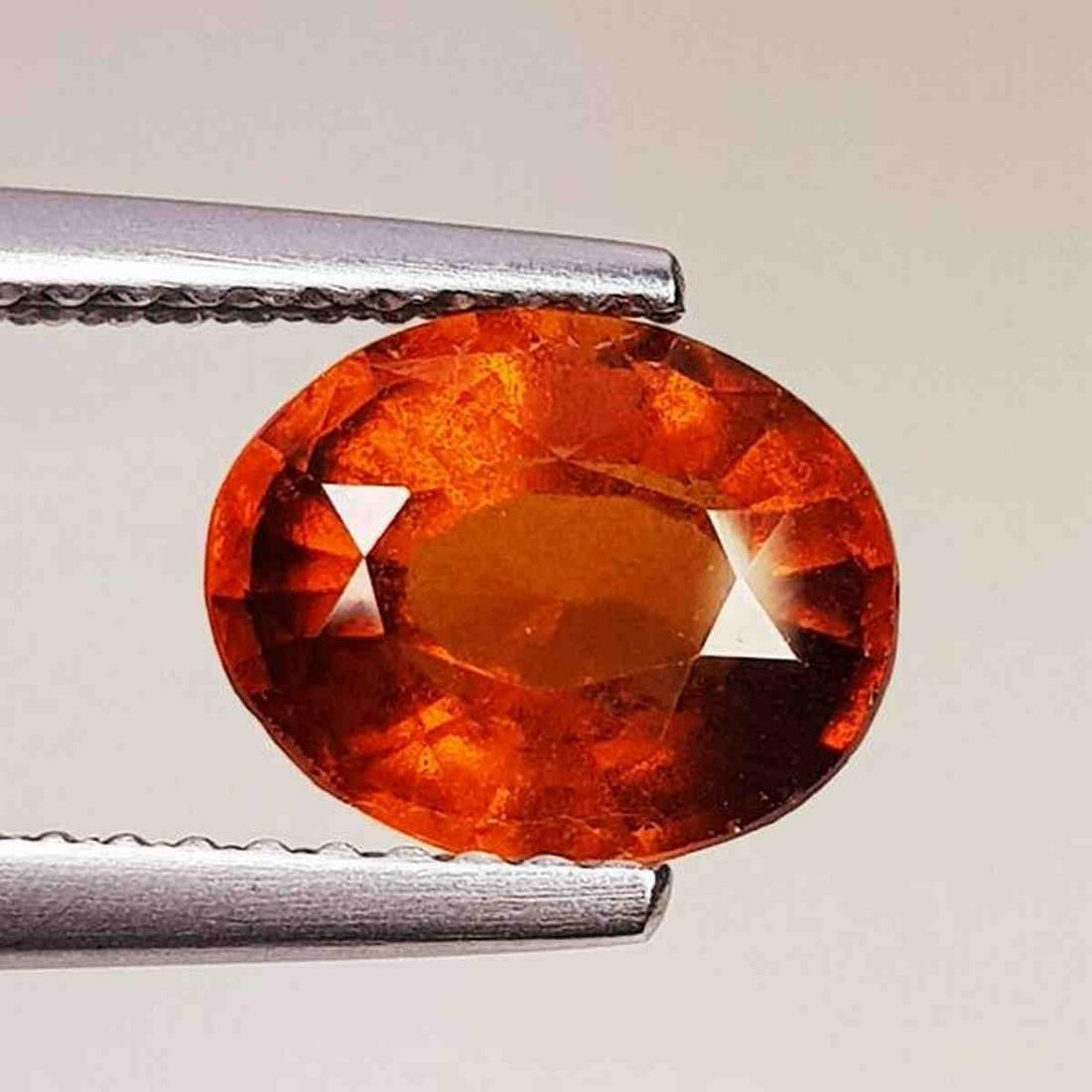 Natural Hessonite Garnet Oval Cut 1.98 ct