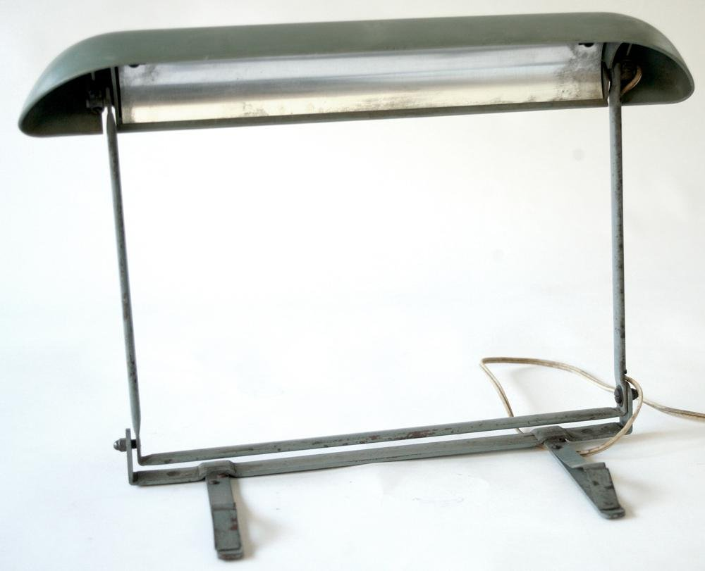 FRENCH INDUSTRIAL DESK LAMP ATTRIBUTED TO PERRIAND