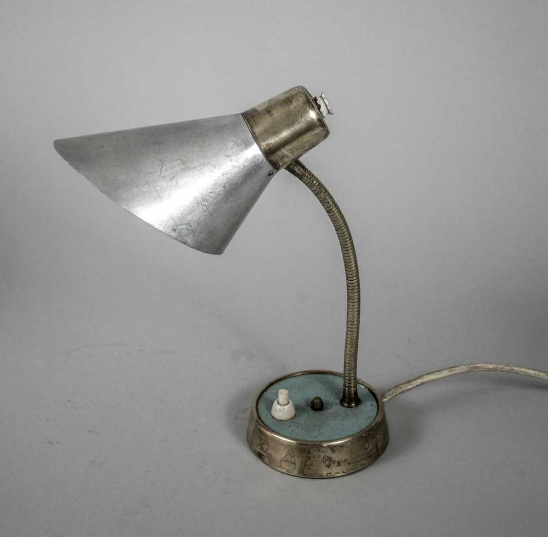 SMALL DESK LAMP FRENCH MODERNIST GUARICHE