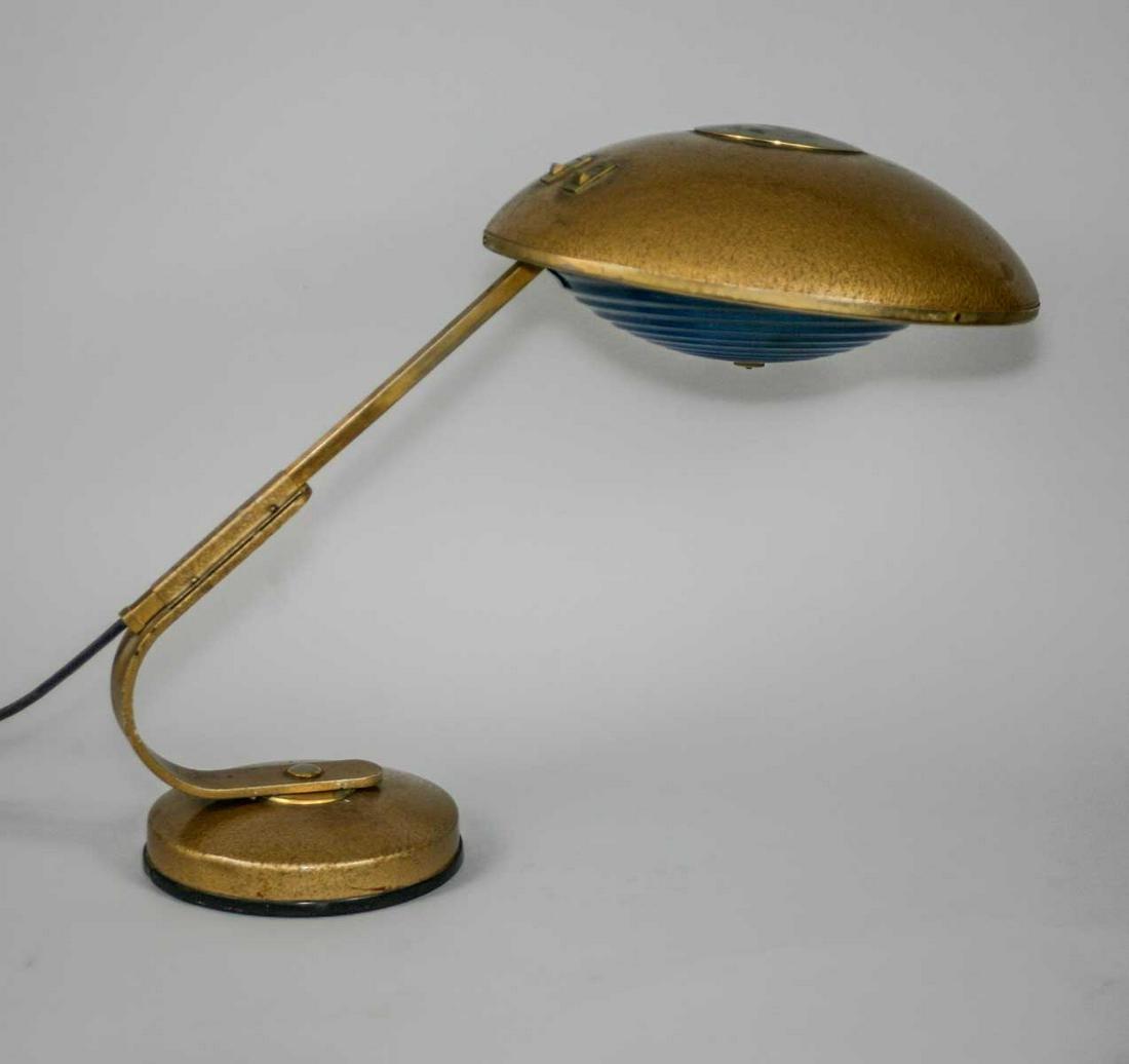 French modernist mid century desk task lamp Ferdinand