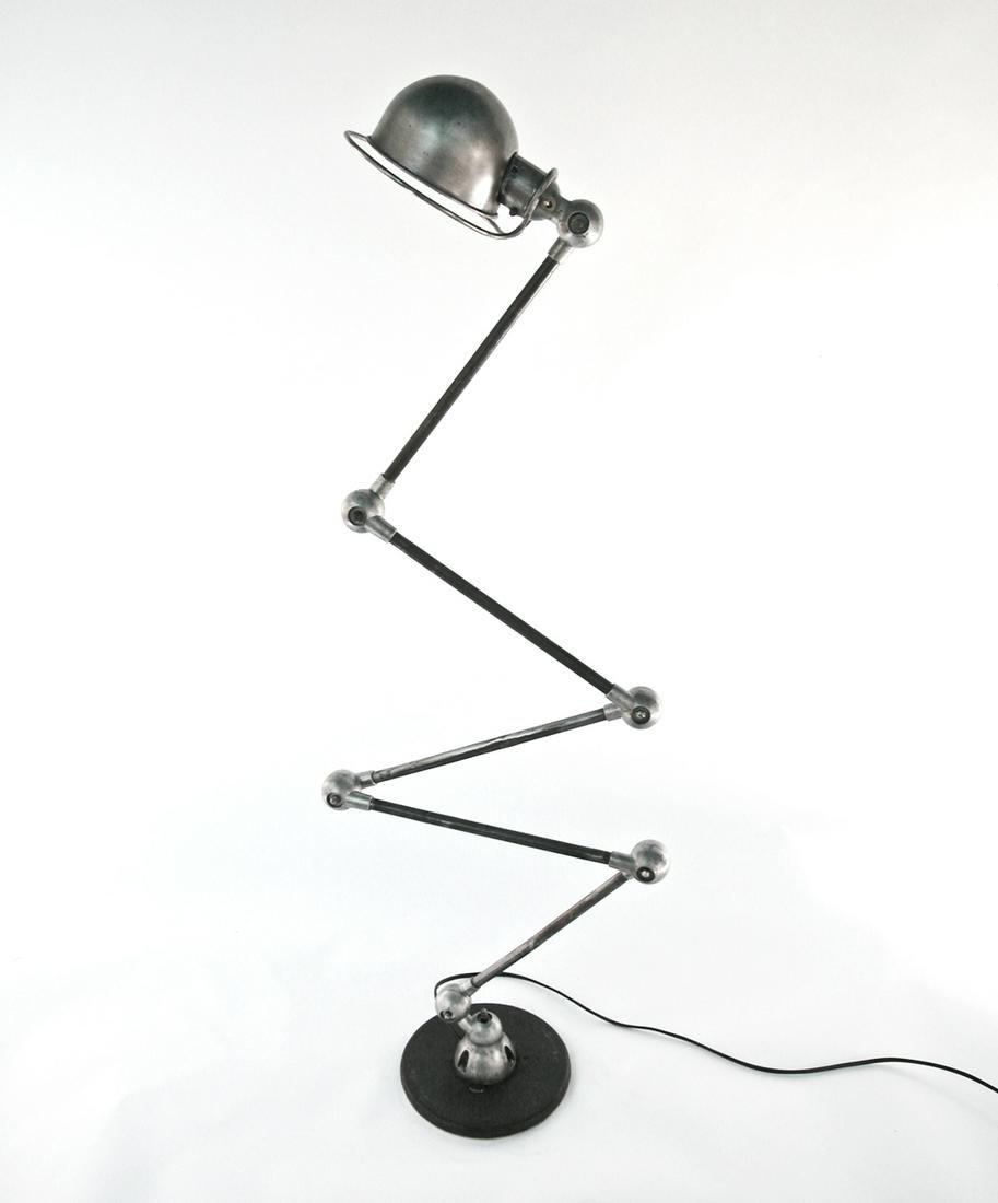 FRENCH INDUSTRIAL JIELDE MODERNIST LAMP DOMECQ FLOOR