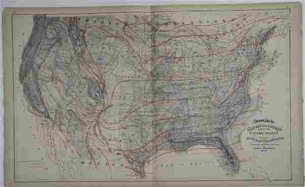 Gray's Atlas Climatological Map of the United States