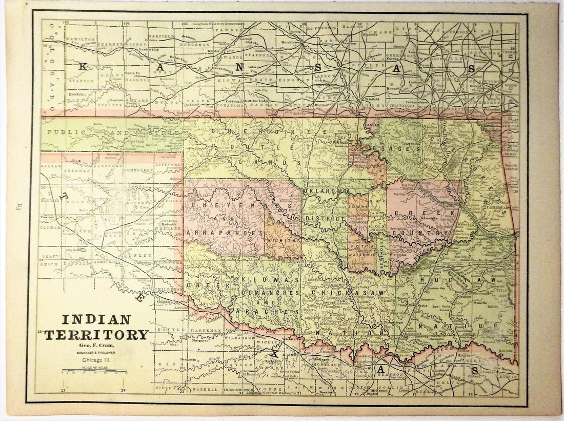Indian Territory 1891