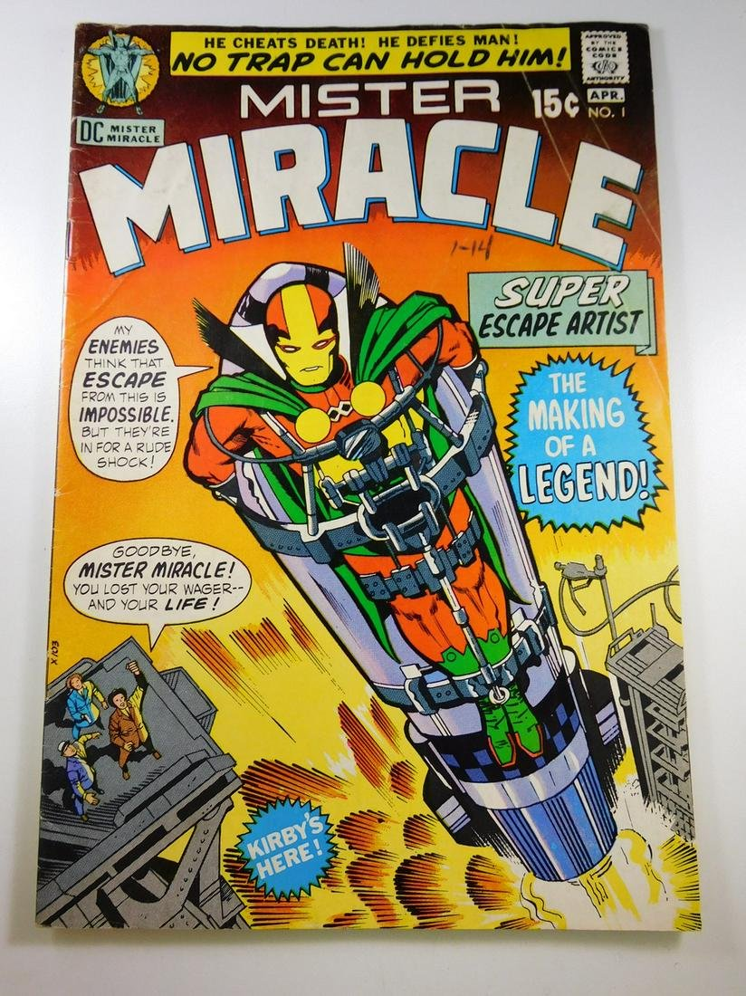 Mister Miracle #1 First Appearance of Mister Miracle