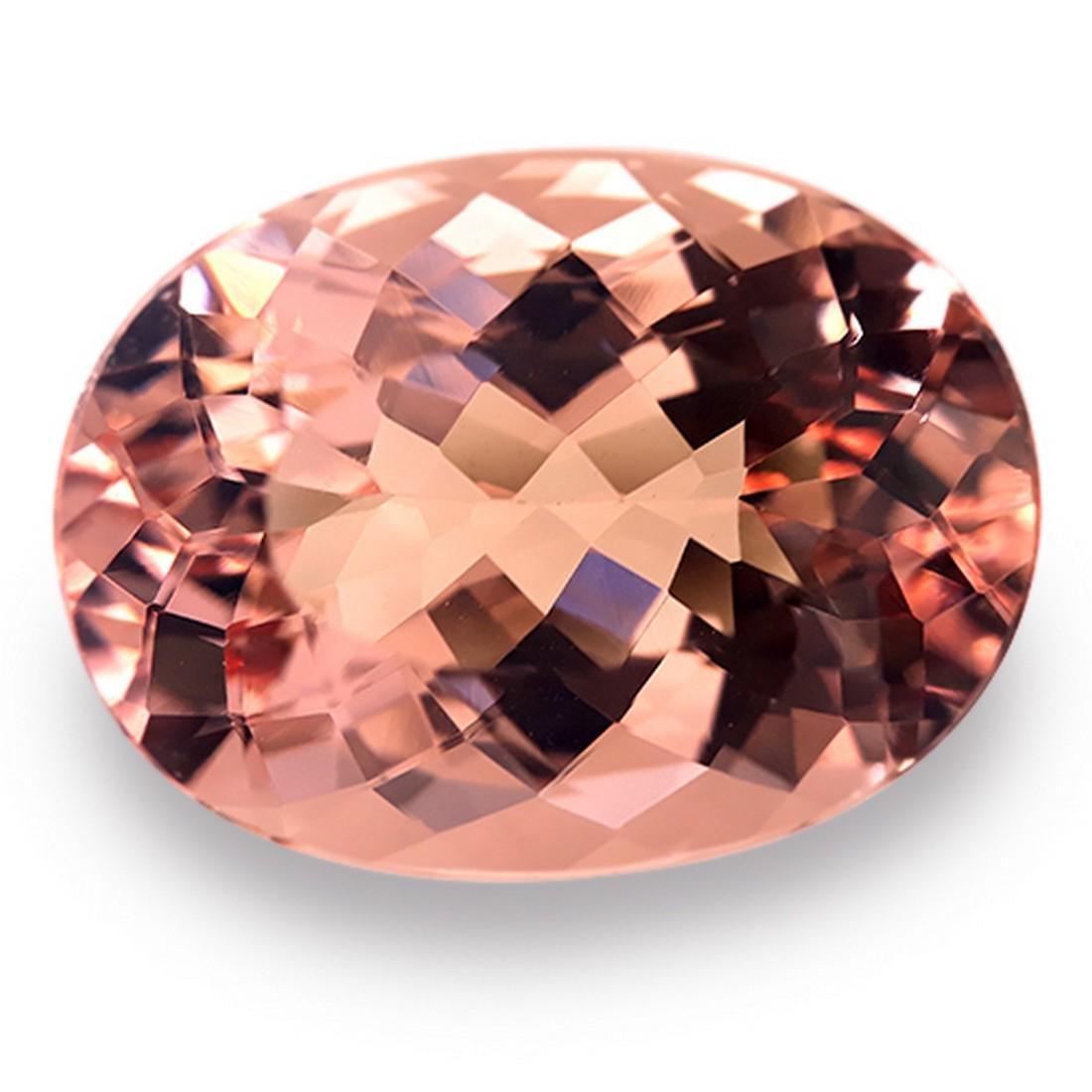 9.14 Cts Natural Morganite