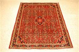 c1930s ANTIQUE PRSIAN MALAYER RUG 3.6x5 MANY MORE RUGS