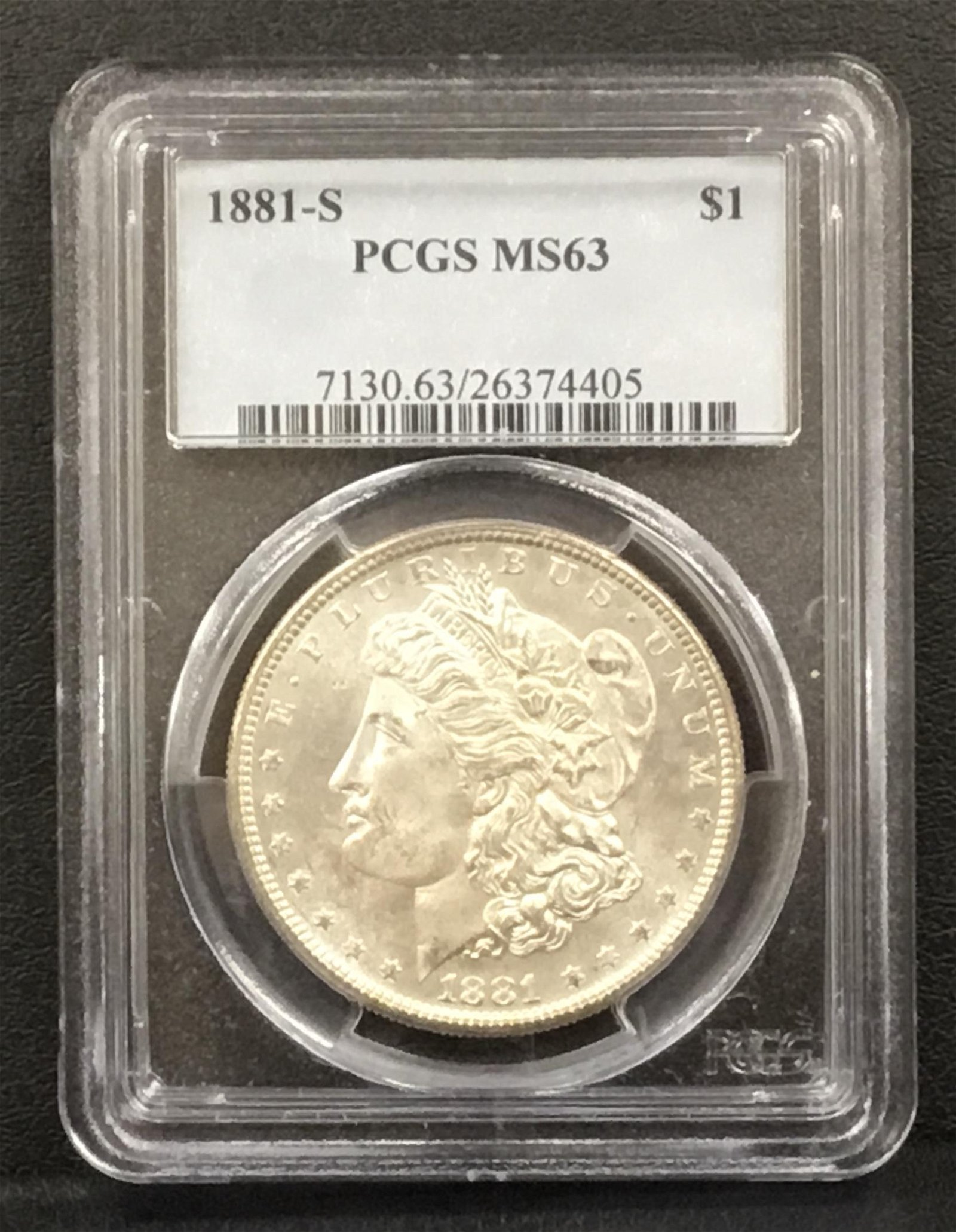 1881-S Morgan Silver Dollar - $1