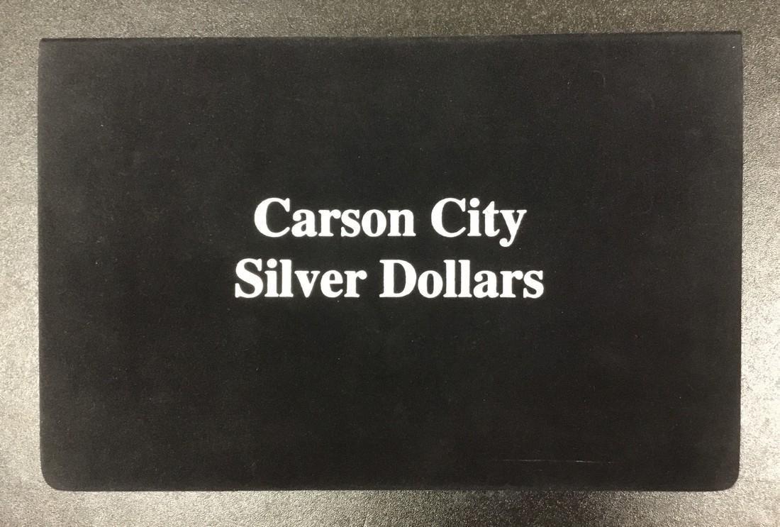 1882-CC, 1883-CC & 1884-CC Set of Morgan Silver $