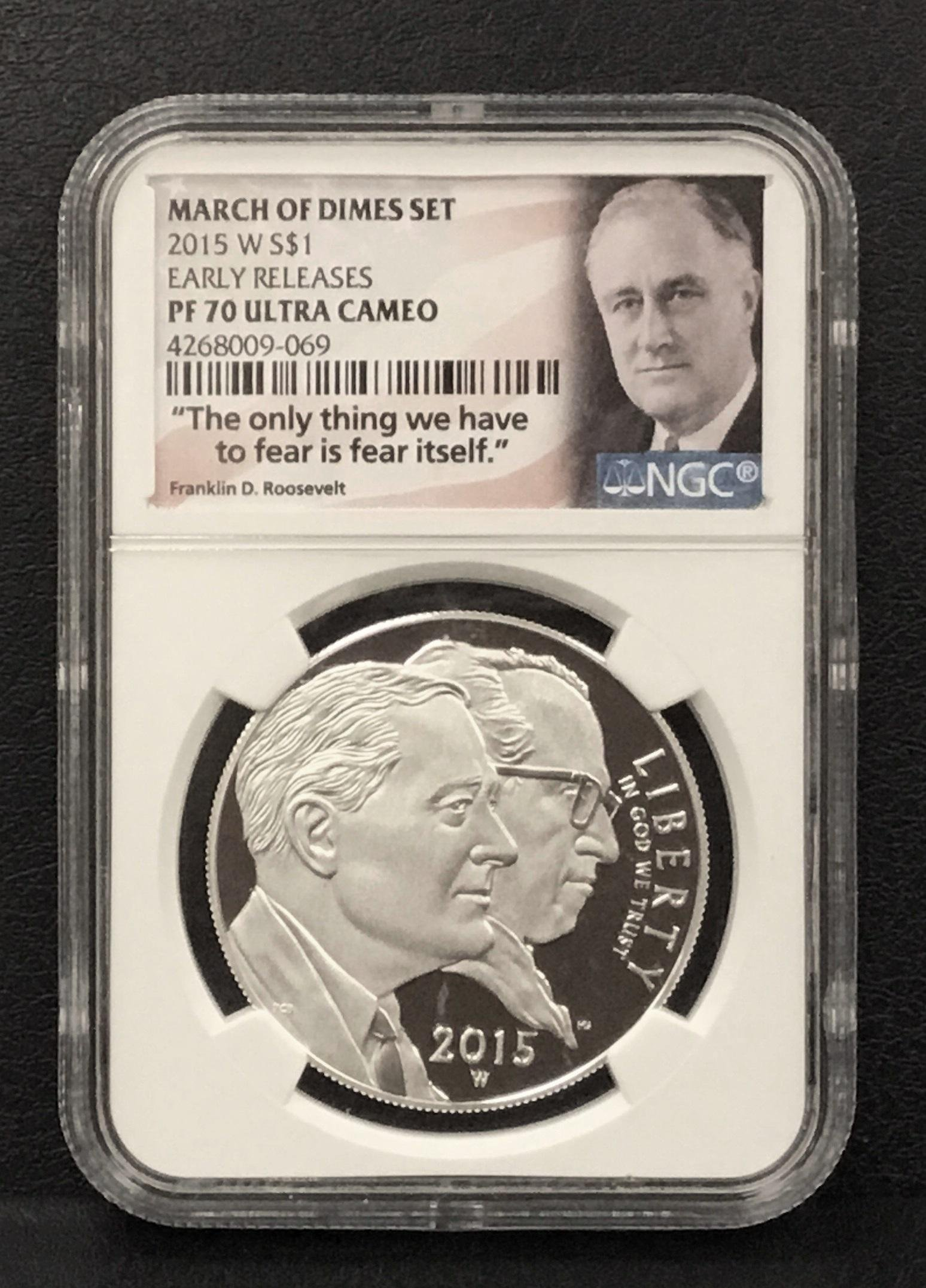 2015-W March of Dimes Silver $1