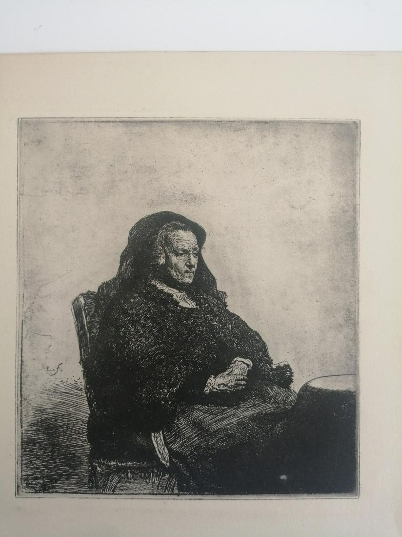 after REMBRANDT HARMENSZ. VAN RIJN (1606-1669)