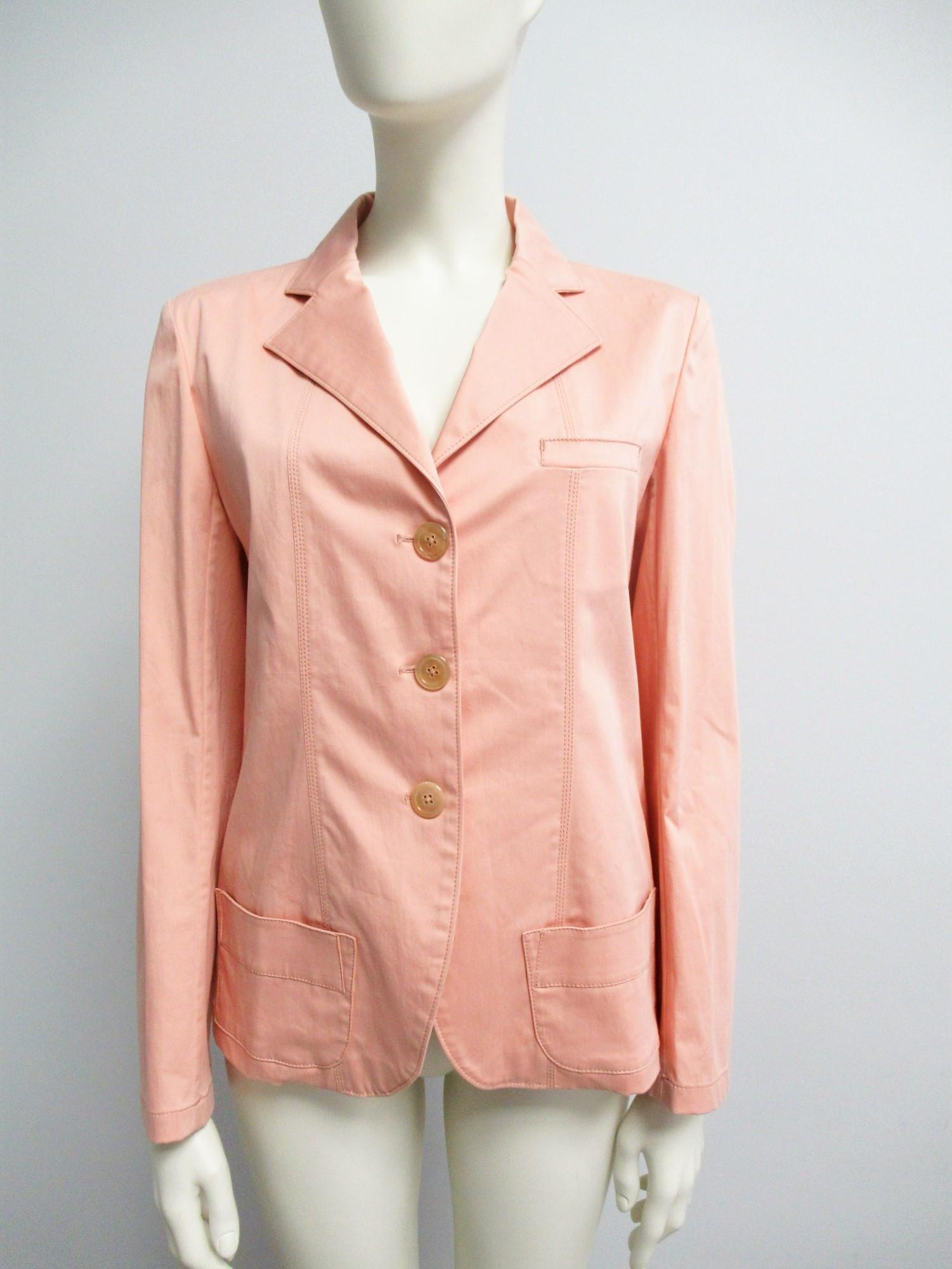 """""""JIL SANDER"""" Cotton blazer Size XS-S"""