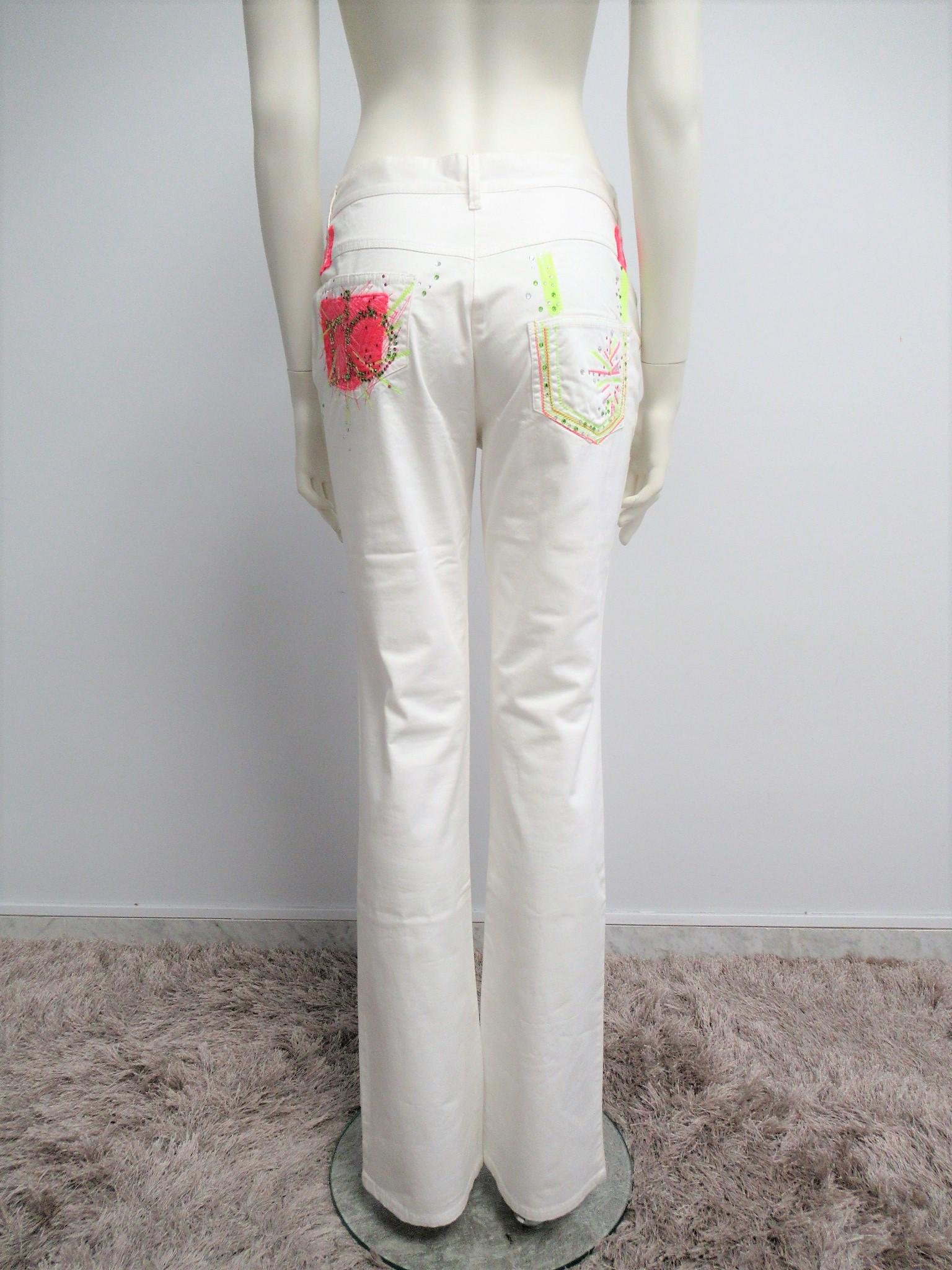 """""""ROCCOBAROCCO"""" Cotton trousers Size US 30 / M"""