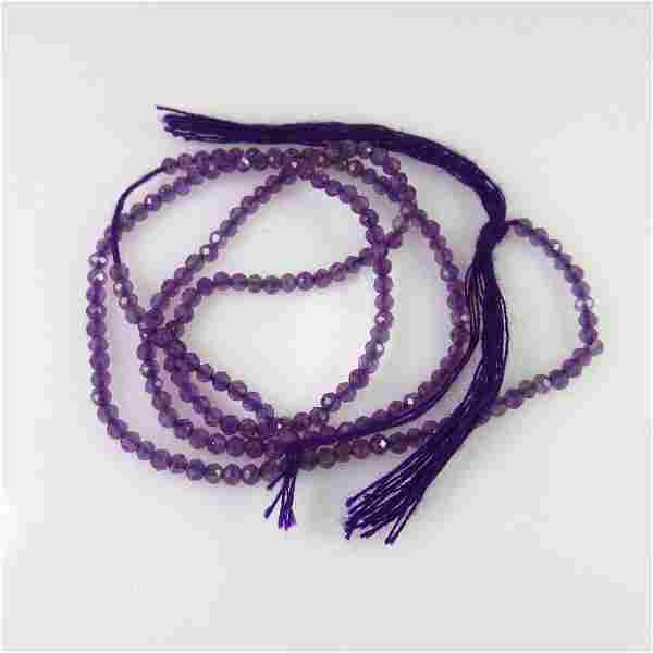 6.55 Ct Natural 167 Purple Amethyst Drilled Round Cut