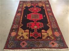 Stunning Persian Vintage Rug 4'x7'