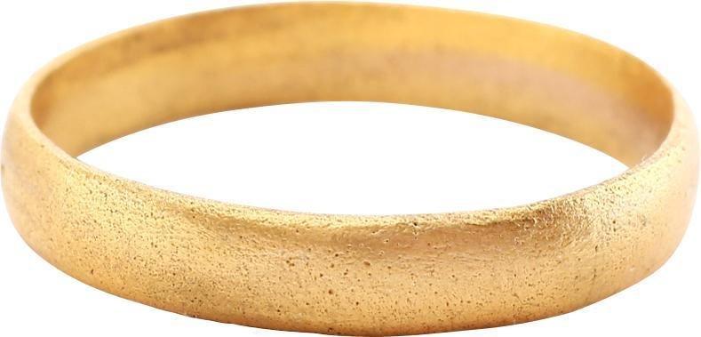ANCIENT VIKING MAN'S WEDDING RING C.850-950 AD SZ 11