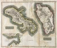 West India Islands. Martinico. Dominica.