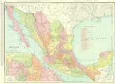 Rand, McNally Indexed Atlas Mexico. Rand, Mcnally &