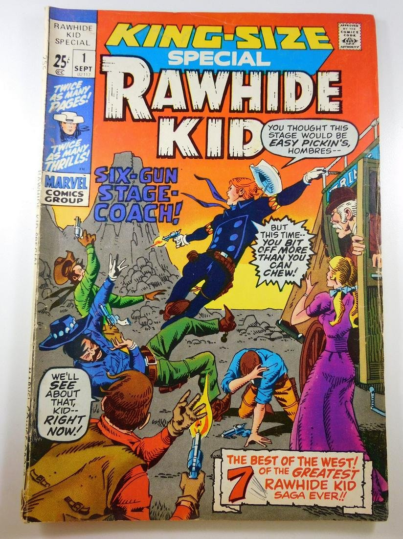 King-Size Special Rawhide Kid #1