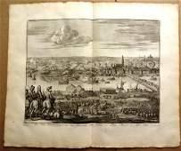 1730 Engraving Battle at Bommel