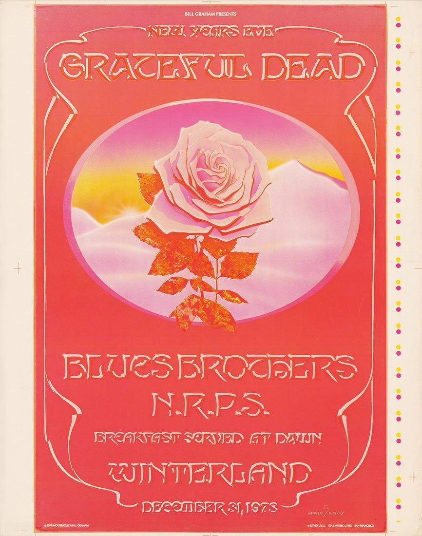 AOR-4.38 Grateful Dead Winterland Progressive Proof