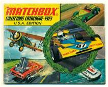 GRAPHIC VINTAGE 1973 MATCHBOX COLLECTOR CATALOG USA